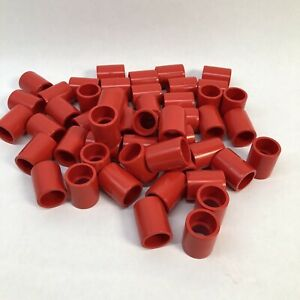Lot Of 50 Red Colored Pvc External Coupling