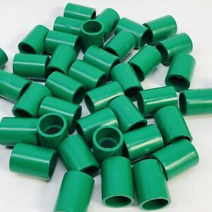 Lot Of 50 Green Colored Pvc External Coupling