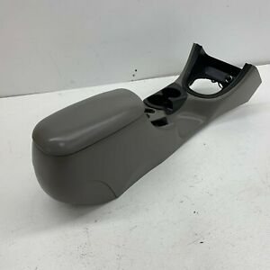 1994 1998 Oem Ford Mustang Center Console With Armrest And Storage Grey s7086