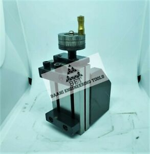 New Model Mini Vertical Slide 90 X 50 Mm Two Handle Milling Operation On Lathe