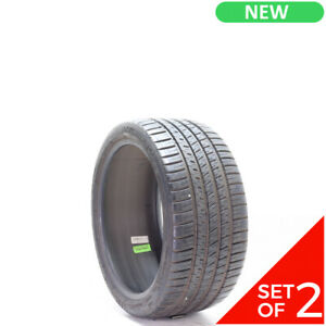 Set Of 2 New 245 35zr18 Michelin Pilot Sport A s 3 92y 9 5 32