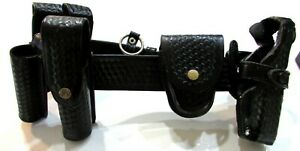 Bianchi b2 Leather Police Security Duty Belt Glock