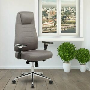 Techni Mobili Comfy Height Adjustable Home Office Chair With Wheels
