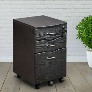 Techni Mobili Rta s07 Rolling With Locking Storage And File Cabinet