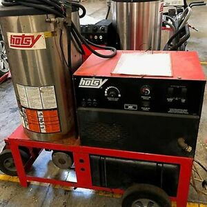 Used Hotsy 1410ss Electric diesel 4gpm 3000psi Hot Water Pressure Washer