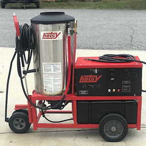 Used Hotsy 1420ss 3ph diesel 4gpm 3000psi Hot Water Pressure Washer
