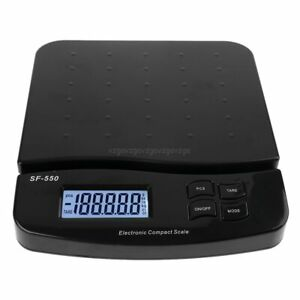 25kg 1g 55lb Digital Scale Electronic Postage Weighing Scales With Counting Func
