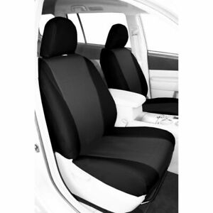 Caltrend Faux Leather Front Seat Cover For Nissan 2005 2010 Titan Ns215 09lb