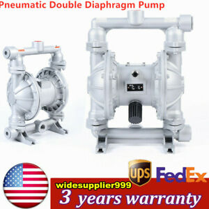Qbk 25l Air operated Double Diaphragm Pump 24 Gpm 1in Inlet