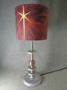 Time Travel Machine Machine Age Art Deco Lamp C 1925 Bolt Xx