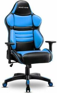 Racing Gaming Computer Chair Executive Pc Laptop Swivel Desk Wide Seat Recliner