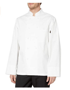 Dickies Covered Button Chef Coat White X large