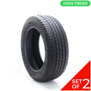 Set Of 2 Used 275 55r20 Goodyear Wrangler Sr a 111s 8 9 32