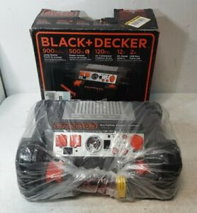 Black decker Pprh5b 500 watt Portable Power Station Jump Starter o