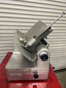 12 Deli Slicer Automatic Or Manual Meat Cheese 120v Hobart 1712 Sharpener 4694