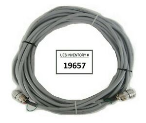Cti cryogenics 8112463g500 On board Cryo Pump Power Cable 50 Foot Working Spare
