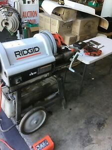 Ridgid 1224 Pipe Threader 1 2 4 Rigid 300 535 Free Freight Shipping