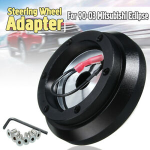 6 Holes Steering Wheel Quick Release Hub Adapter For Mitsubishi Eclipse 90 03