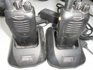 Kenwood Tk 2160 Vhf Radio 16 Channels Great Working Condition