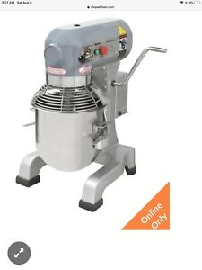 Adcraft Pm 10 10qt Planetary Mixer With 3 Attachements