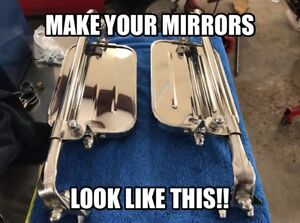 1967 1972 Ford F100 F250 F350 West Coast Jr Mirror Stainless Hardware Kit