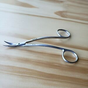 Hu friedy S14 Stainless Surgical Scissors 4 5 Double curved Made In Germany
