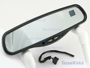 Auto Dimming Rear View Mirror Gntx 177 Compass Dual Display 7 Wire Gm 7 Pin