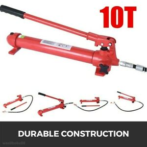 10 Ton Porta Power Hydraulic Jack Body Frame Repair Tool Auto Shop Tool Lift Ram