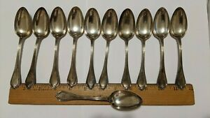 Vintage 11 Lot Sterling Silver Spoons 925 1000 Mono M