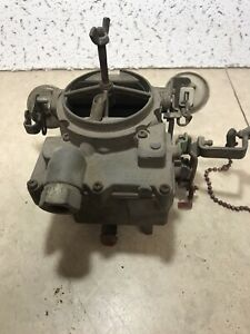 Used Rochester 2 Jet Gm 2bbl Carburetor 7041142 0411kai
