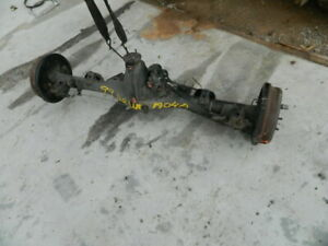 Toyota 4runner Rear End Differential Axle Carrier Complete W Abs E Locker A04a