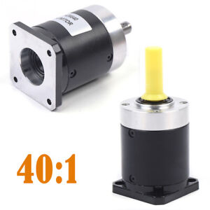 Nema 17 Planetary Gearbox Stepper Speed Reducer Gear Head Low Noise 40 1 Durable