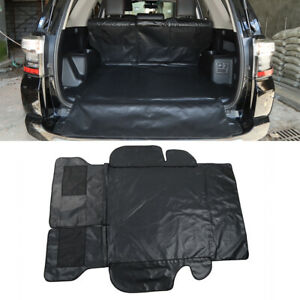 For Toyota 4 Runner 2014 2020 Pet Car Trunk Back Seat Cover Tail Box Mat Black