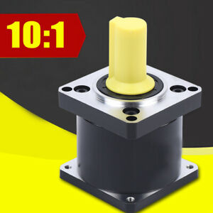 Nema23 Planetary Reducer Gearhead Stepper Motor Gearbox Ratio 10 1 Low Noise Top