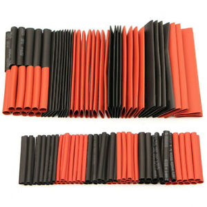 127pcs 2 1 Heat Shrink Tubing Wire Cable Sleeving Wrap Electrical Connection Kit
