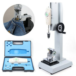 Abq Pointer Style Button Test Stand Tester For Push pull Gauge Testing Machine