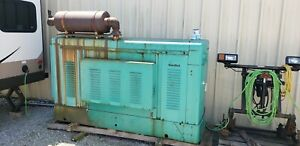 Onan 75kw 3 phase Natural Gas Generator 1 190 6 Hours Runs