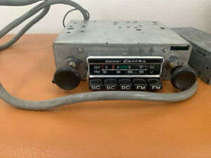 Plays Like New Vintage Becker Europa Am Fm Radio Rebuilt By Becker Of Na