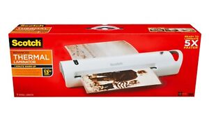Scotch Advanced Thermal Laminator Value Pack 13 Width Tl1302vp 1 Minute Warm up