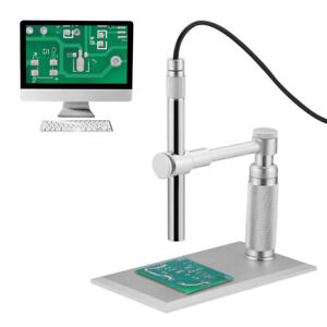 500x 8led 2mp Usb Digital Microscope Endoscope Zoom Camera Magnifier With Stand