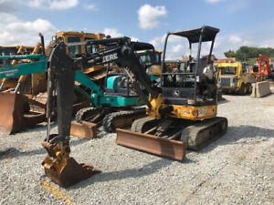 2014 John Deere 27d Hydraulic Mini Excavator Cheap