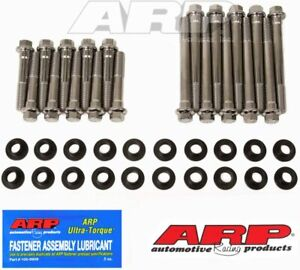 Arp 454 3605 Arp3000 Polished Stainless Hex Head Bolt Set Bushings 5 0l 302 Ford