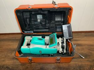 Nikon Dtm 520 Survey Surveying Total Station With Battery Charger And Hard Case