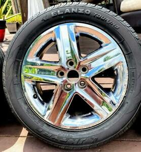 Used Tires And Ring 235 55 r18 Elanzo 2 Tires Rims