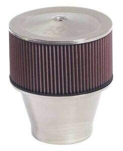 K n Velocity Stack Air Cleaner Filter Assembly 9 Inch Diameter 58 1191