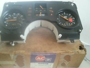 Nos 1984 88 Pontiac Fiero Dash Cluster Ac gm 25078771 New In The Box