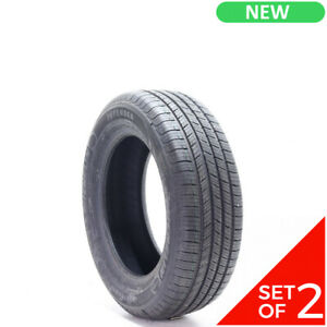 Set Of 2 New 225 60r17 Michelin Defender 99t 10 32