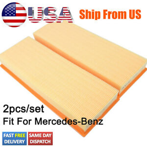 Cars Engine Air Filter 1120940604 2730940204 For Mercedes Benz C Cl E S Class