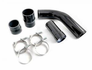 Black Hot Side Intercooler Pipe Boot Kit For 2011 2016 Ford 6 7l Powerstroke