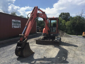 2006 Kubota Kx161 3 Hydraulic Mini Excavator W Cab Cheap